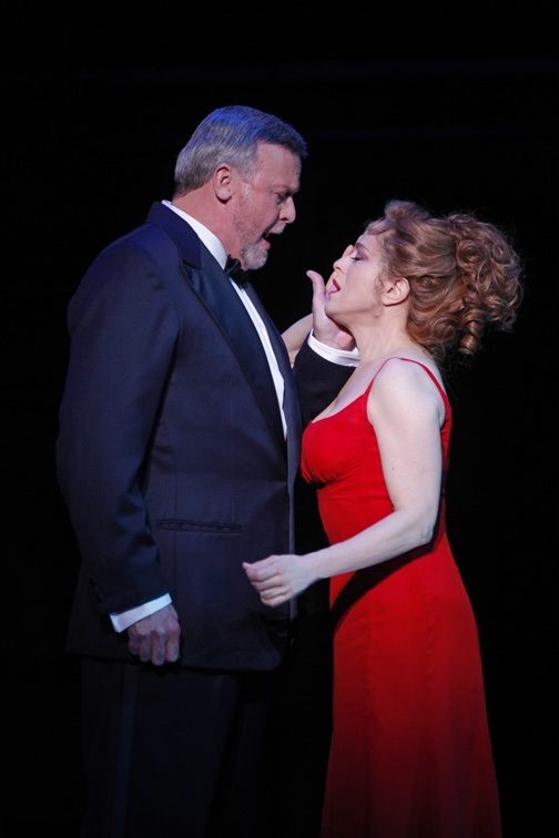 Ron Raines and Bernadette Peters in Follies