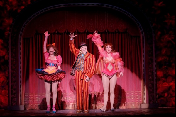 Jennifer Foote, Danny Burstein and Kiira Schmidt in Follies