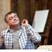 Hay Fever - Rehearsals: Kevin McNally