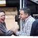 Hay Fever - Rehearsals: Olivia Colman and Kevin McNally