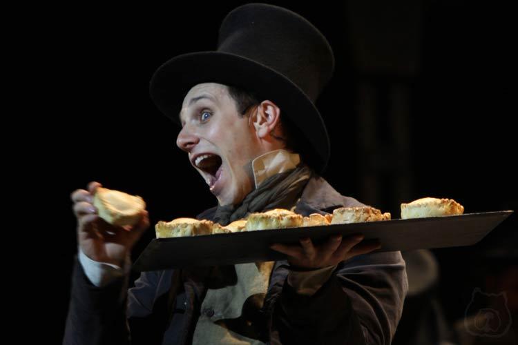 Sweeney Todd at the Théâtre du Châtelet, Paris