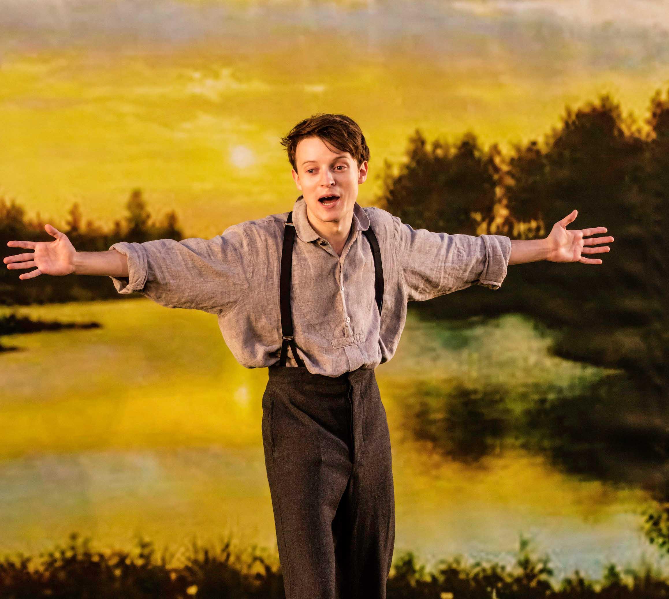 Matthew Tennyson as Konstantin in The Seagull