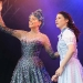 Emily Tierney as Glinda and Danielle Hope as Dorothy, The Wizard of Oz at the London Palladium